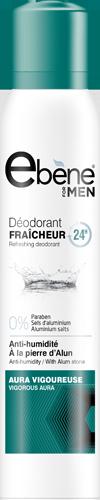 Ebene deodorant Aura vigoureuse