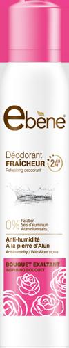Ebene deodorant Bouquet exaltant